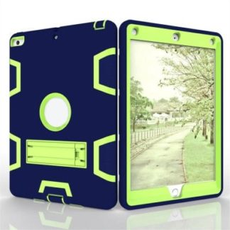 Tablet Hybrid Shockproof Protect Armor Holder Heavy Duty Kickstand Cover Shell for New iPad 2017 9.7 Case