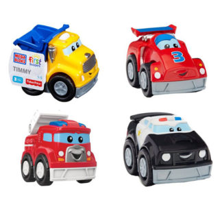 Mattel Mega Bloks CXN72 Мега Блокс Маленькие машинки (в ассортименте)