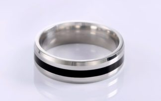 ORSA JEWELS New Arrival 316L Stainless Steel Couple Ring Fashion Design Ring for Men and Women Popular Ring Free Shipping OTR03