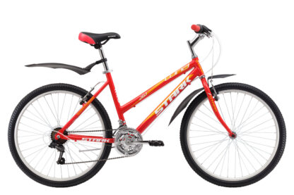 Велосипед Stark Luna 26.1 RV (2017) красный/жёлтый 16″