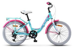 "Велосипед Stels Pilot 260 Lady 20 V010 (2019) бирюзовый 12"""