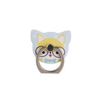 Cartoon Cat 360 градусов Finger Ring Мобильный телефон Смартфон Стенд Держатель Красная юбка Смартфон